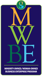 Minority-Owned Woman-Owned Business Enterprise Program (MWBE) logo
