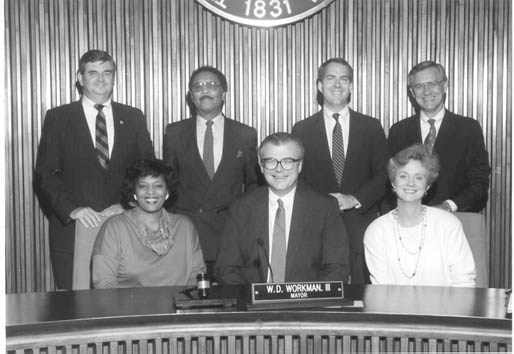 1989 to 1991 City Council