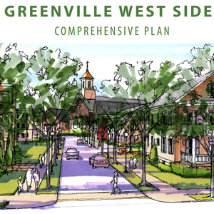 West Greenville Comprehensive Plan cover page